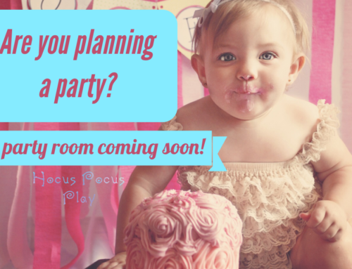 Party Room Coming Soon